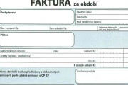 Faktura je dokladem k určité platbě a nemusí ji vystavovat jen podnikatelé či firmy