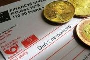 Jak správně zaplatit daň z nemovitosti