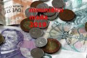 Zvyšování minimální mzdy pro rok 2019 hraje o částky 800, 1000 nebo 1500 Kč