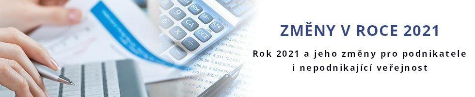 Změny pro podnikatele 2021